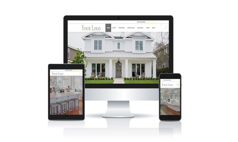 Real Estate Website Design by Ulla-Maija Kivimaki