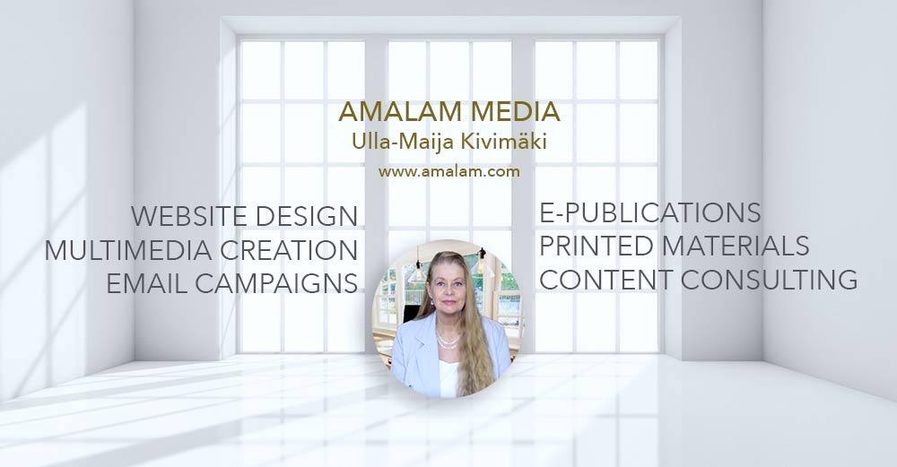 Services of Ulla-Maija Kivimaki - Amalam Media