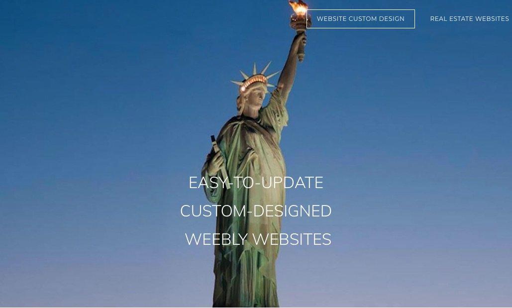 Weebly Website Design by Ulla-Maija Kivimaki